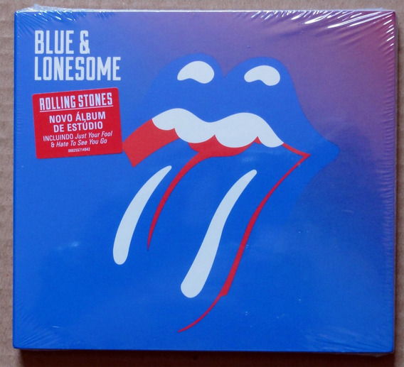 Cd The Rolling Stones - Blue & Lonesome Original Lacrado!!