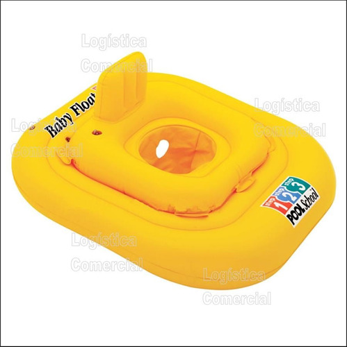 Flotador Inflable Cuadrado Para Bebe Bestway 69x69cm 32050