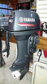 Motor Fuera De Borda Yamaha 40 Hp Dos Tiempos Con Power