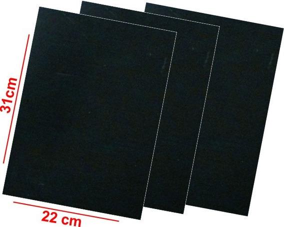 50 Folhas Manta Magnética Neutra 0,8mm 21x30cm