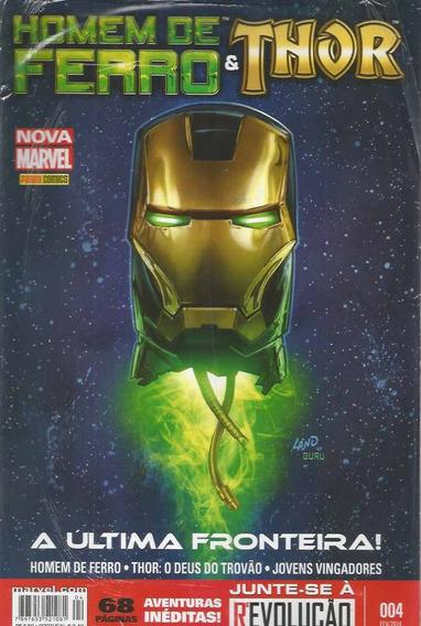 Homem De Ferro & Thor 4 - Panini - Bonellihq Cx150 K19