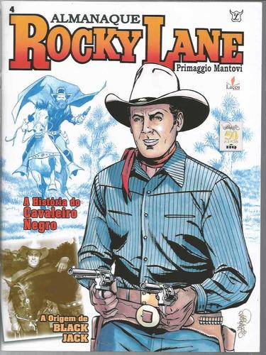 Almanaque Rocky Lane 04 - Lacos 4 - Bonellihq Cx26 C19