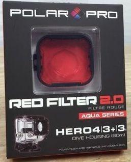 Filtro Rojo Para Gopro (hero4/3+/3) Divehousing 60m