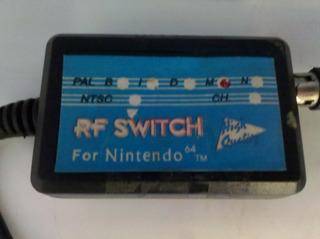 Rf Switch Para Nintendo 64