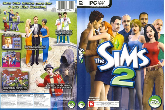 Game Lacrado Pc The Sims 2 Cd Rom 4 Discos