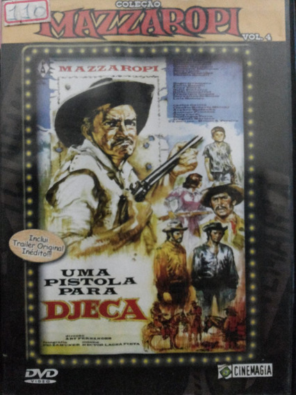 Dvd Mazzaropi Uma Pistola Para Djeca