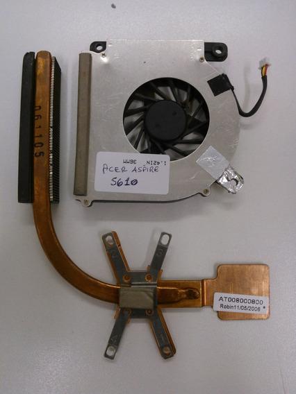 Cooler + Dissipador Acer Aspire 5610 - At008000800