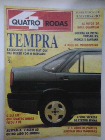 Revista Quatro Rodas Nº 373 - Agosto 1991 - Frete Grátis