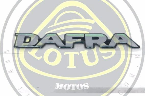 Emblema Logo Dafra Resinado Modelo Original Stps001rg