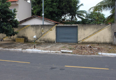 Terreno 450 Metros Com Casa De 2/4