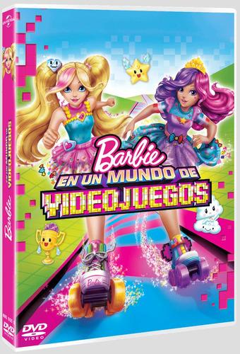 Barbie En Un Mundo De Videojuegos (dvd) Nuevo Original