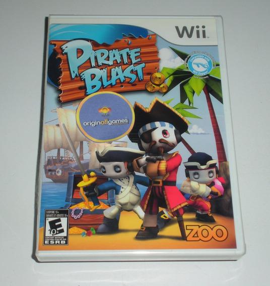 Pirate Blast Aventura ¦ Jogo Wii Original Lacrado ¦ M Física