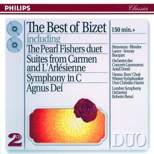 Cd Georges Bizet - The Bes Of - Box Com 2 Cd´s