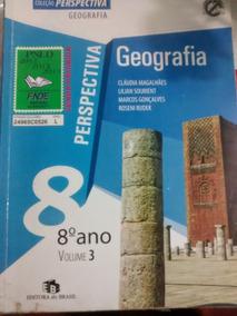 Livro- Perspectiva Geografia Oitavo Ano 2009 Claudia Magalhã