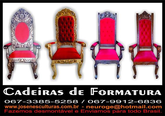 Cadeiras Para Formatura - Josen Esculturas