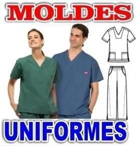 Patrones De Uniformes Medicos Y Enfermeras + 2 Gratis