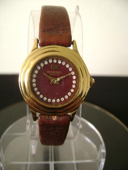 Relógio De Pulso Feminino Royman Well A Quartz