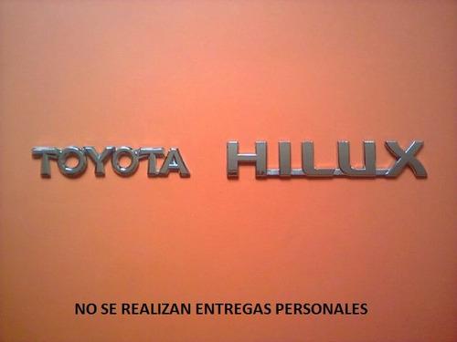 Juego De Emblemas Para Compuerta De Toyota Hilux