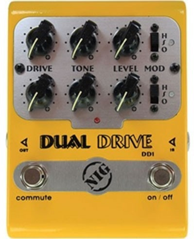 Pedal Nig Overdrive Dual Drive Dd1 - Pd0604