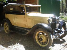 Ford A Doble Phaeton 1929 Muy Entero !!!!!