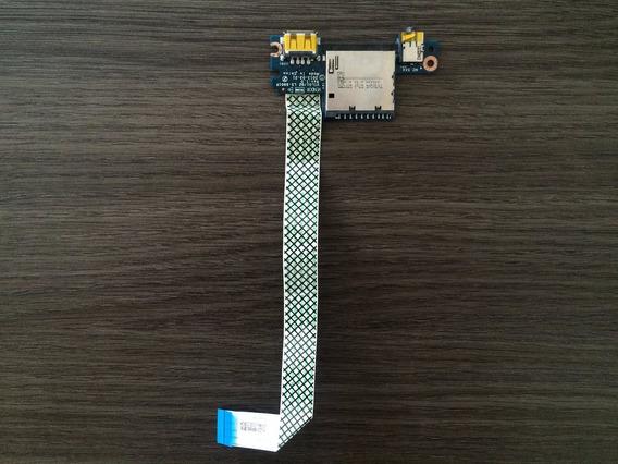 Placa Usb + Audio + Leitor Cartão Lenovo G400s (1)