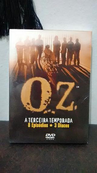 Dvd Box Série Oz - Terceira Temporada Completa - 8 Episódios