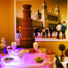 Alquiler Y Servicio De Fuente - Cascada De Chocolate Sephra