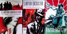 Hq Vampiro Americano 1 E 3 Autografado Rafael Albuquerque