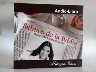 Salmos De La Biblia Audio Libro 4 Cds Originales / 3 Verdes