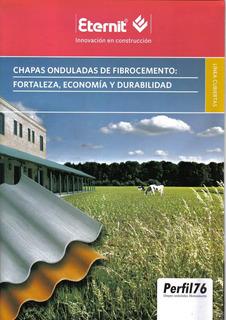 Chapa Galpon Fibrocemento P.76 1,10* M2 1.10 X 1.53 La Plata
