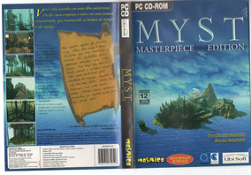 Jogo/game Pc Cd-rom - Myst - Masterpiece Edition - Original