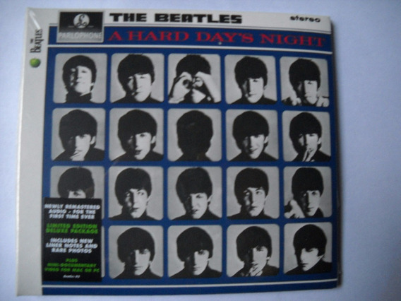 The Beatles A Hard Days Night Cd Remaster 2009