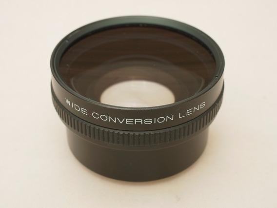 Baixou, Lente 49mm Wide Converter 0.8x Canon Nikon Sony
