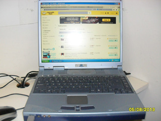 Notebook Arcan Intel Celeron 1.8 Ghz. 1 Gb Ram