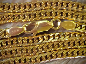 Belo Colar Ouro 18k-22.7gr. Ouro Maciço 67.5cm.