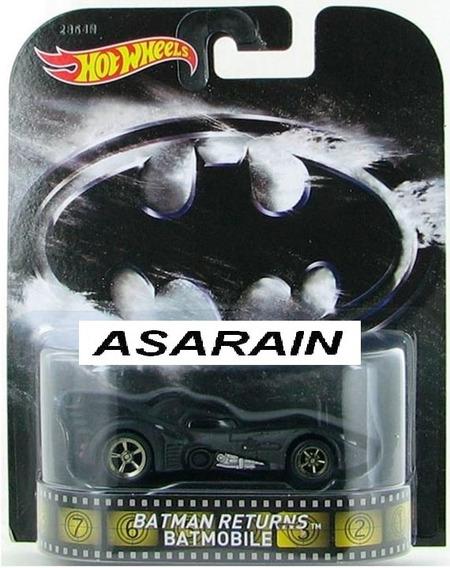 Batman Returns Batmóvel 1989 Retro Hot Wheels - 1/64