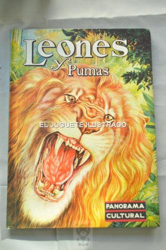 Leones Novaro Gran Album Infantil Juvenil Animales 1962
