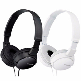 Headphone Sony Branco Mdr-zx110