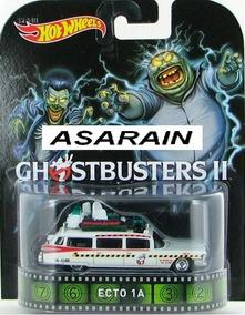 Ecto 1a Ghostbusters Caça Fantasmas Retro Hot Wheels - 1/64