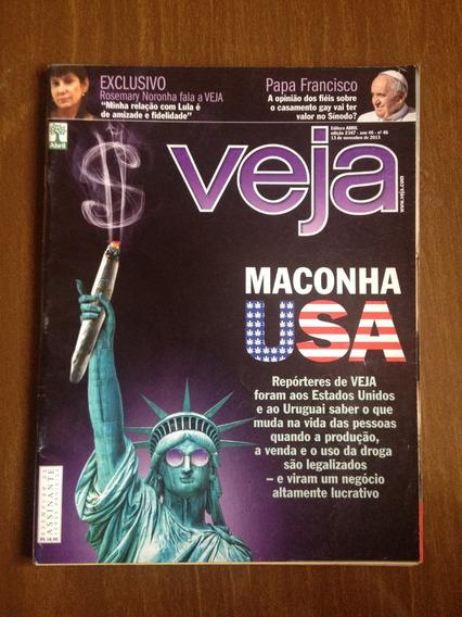 Revista Veja N°46 - Papa Francisco, Dilma, Rosemary Noronha