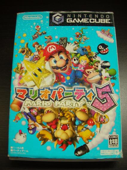 Game Cube Mario Party 5 Japones Nintendo Original Completo