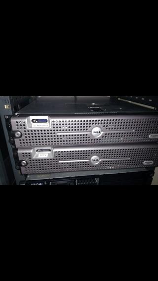 Servidor Dell 2950 G3 Com 16gb Ram E 2 Hds De 500gb