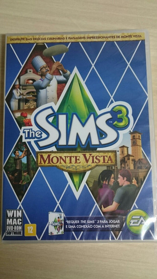 The Sims 3 Monte Vista Original Lacrado Mídia Física.