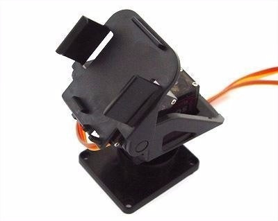 Suporte Pan Tilt Câmera Sensor Ultrassonico Fpv-sem Servo