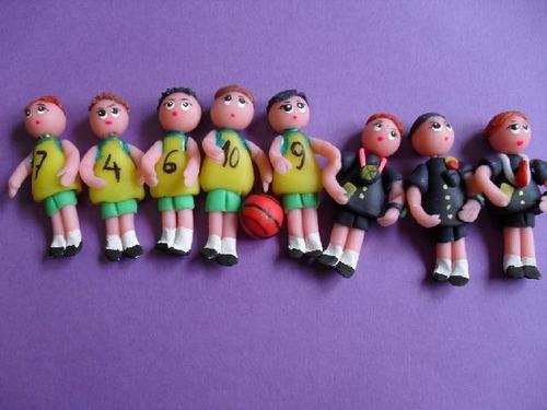 Equipo De Baloncesto (un  Equipo De 5 Jugadores )