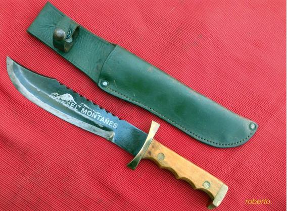 Cuchillo Erizo El Montañés Ejército/gendarmes Joya Sable.