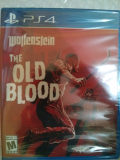 Wolfenstein The Old Blood Ps4 Sellado Delivery Stock Ya