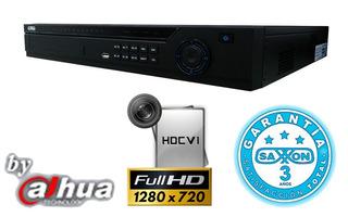 Saxxon Dvr 32 Canales Trihibrido Hdcvi 720p/ 4 Audio