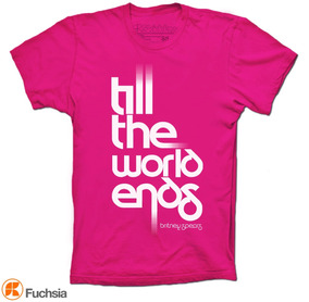Britney Spears Playera Till The World Ends Camisetas