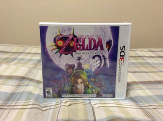 The Legend Of Zelda Majoras Mask Nintendo 3ds Nuevo Sellado